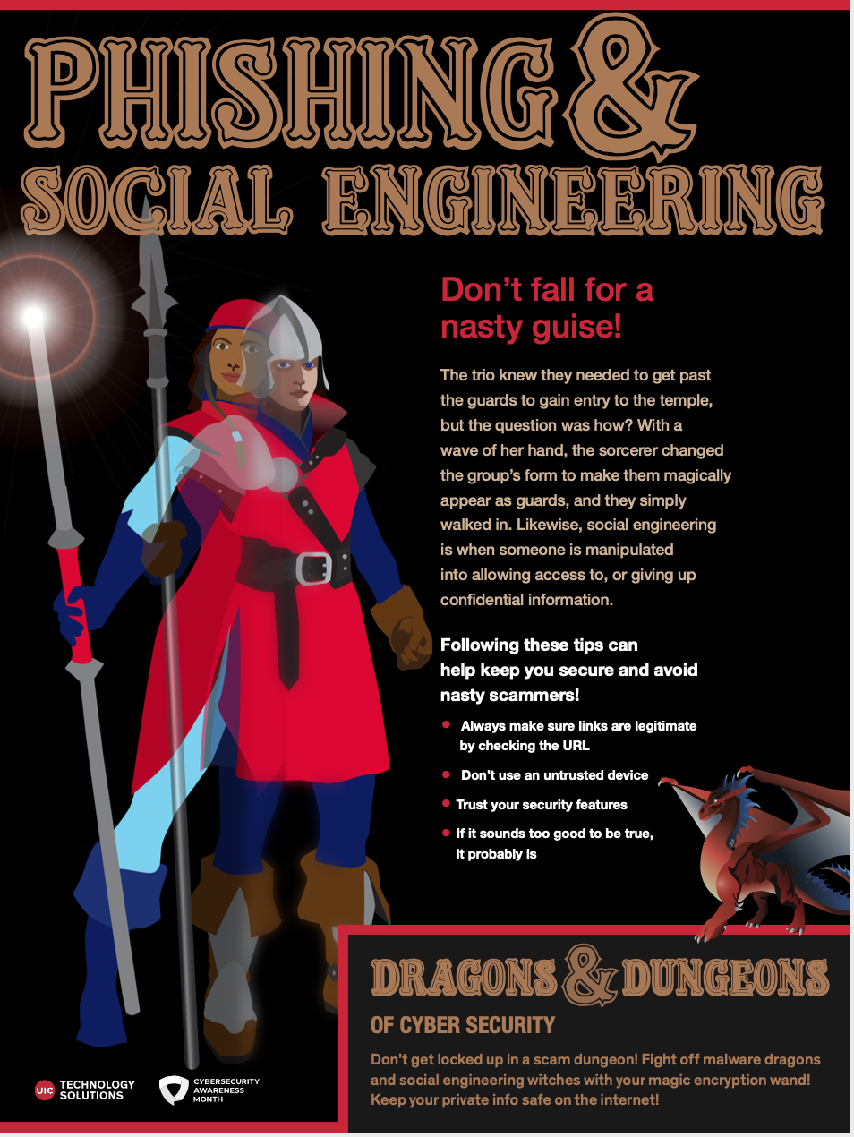 Social Engineering & Phishing Campaign poster