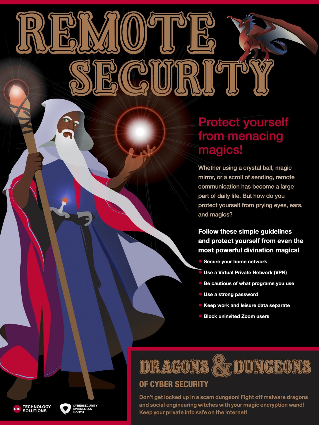 Wizard Remote Security poster