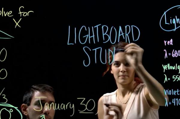 Academic Multimedia Lab and Lightboard Studio