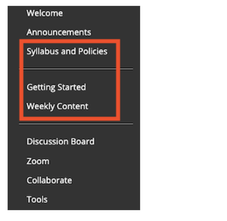 Create Easy to Navigate, Appealing Courses in Blackboard with the Spring 2021 Course Template