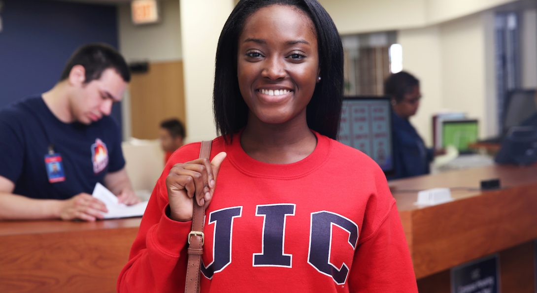 UIC Student Smiling
