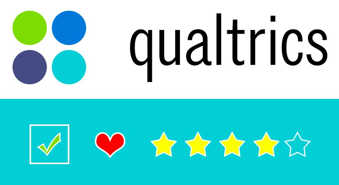 Qualtrics Logo and Survey Icons