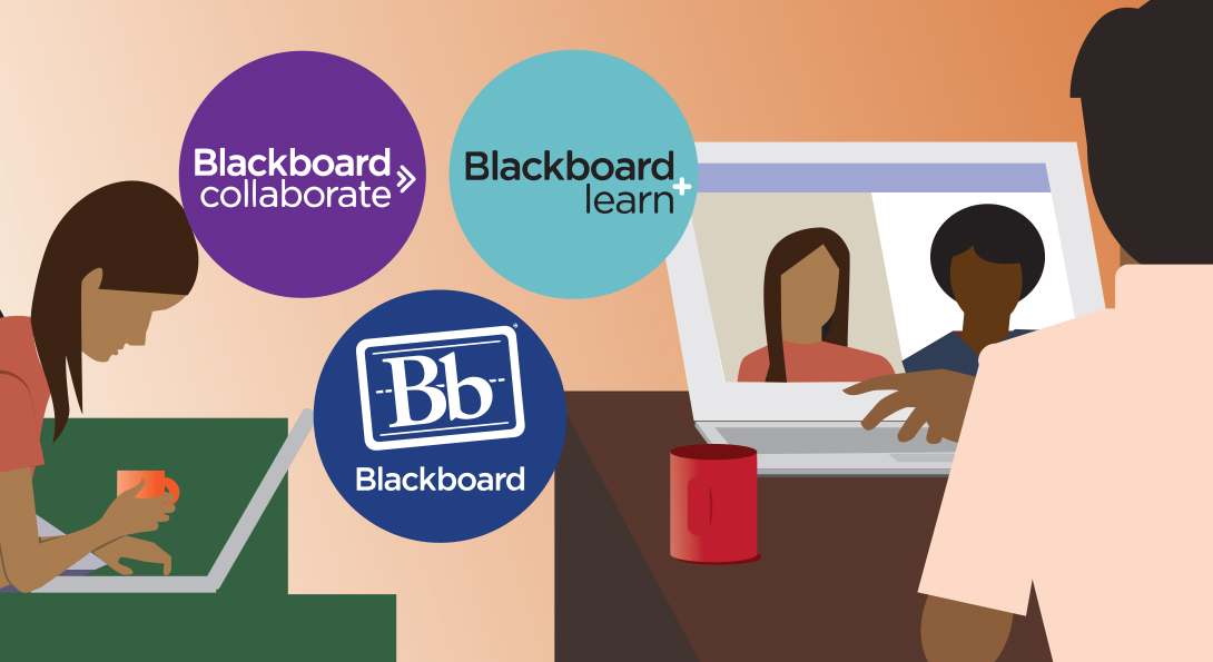 Tools for teaching and learning remotely include Blackboard Learn and Blackboard Collaborate