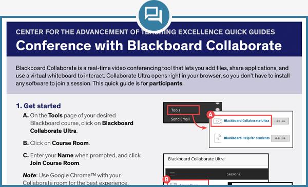 Blackboard Collaborate Quick Guide