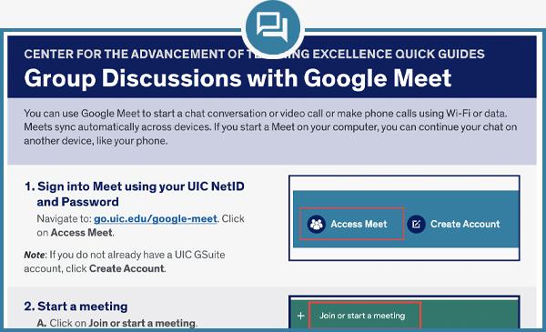 Google Meet Quick Guide