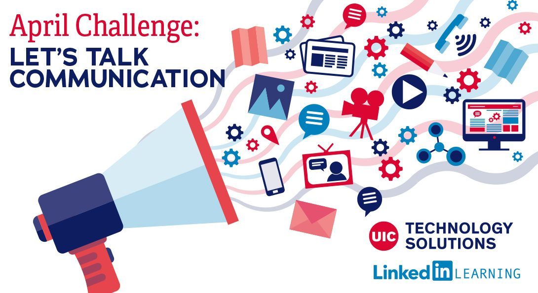 April LinkedIn Learning Challenge graphic