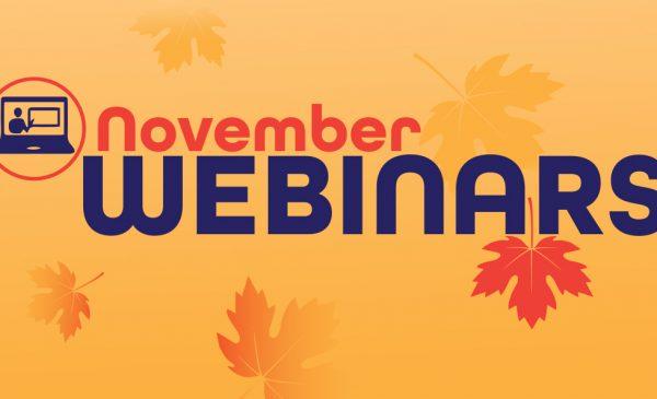 november webinars banner