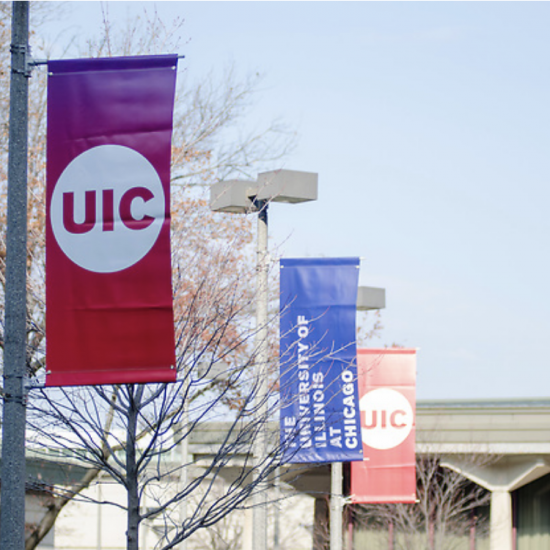 UIC Campus Banners Image
