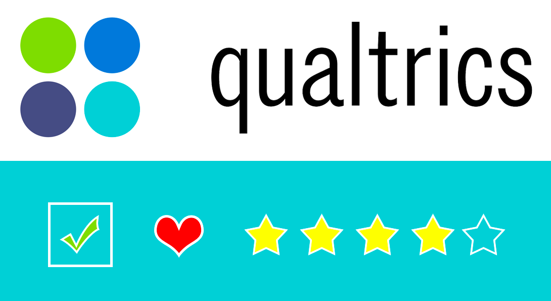 Qualtrics Logo and Survey Icons