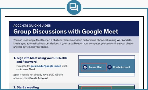 Google Meet Quick Guide