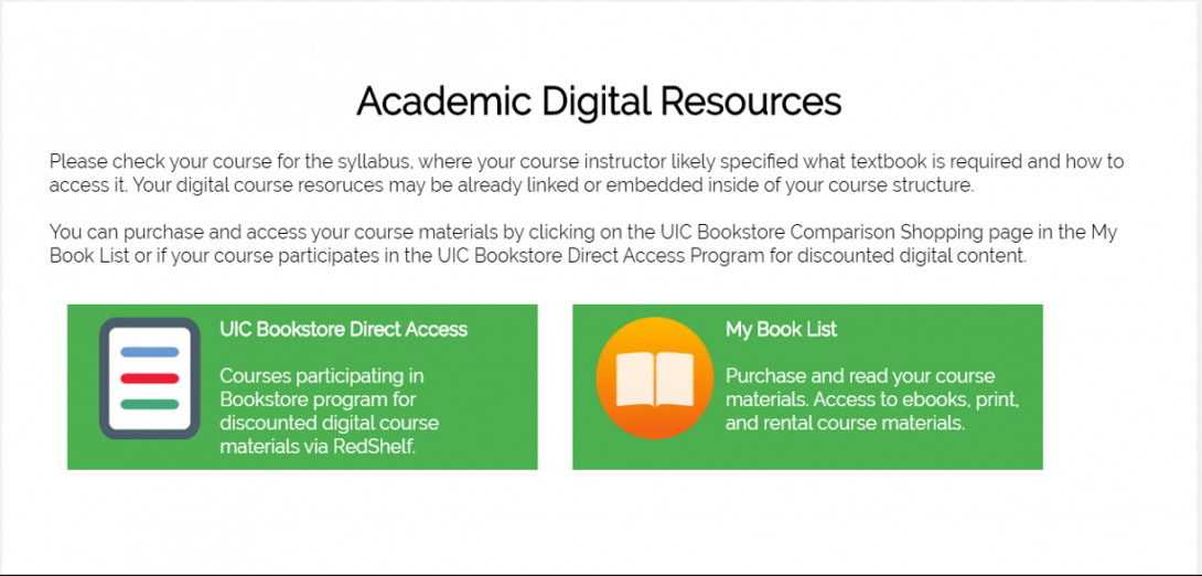 Academic Digital Resources