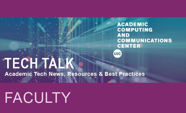 Faculty Tech Talk image
