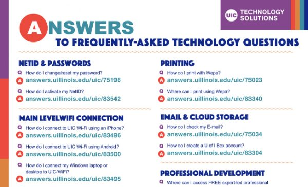 Cover image of the Student Tech FAQ